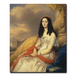 51w_Steuben Carl von - Portrait of Countess dAsh