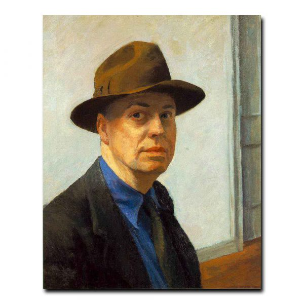 edward hopper self-portrait2