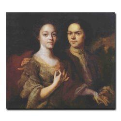 76g_Андрей Матвеев Автопортрет с женой Ириной Степановой