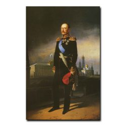 78m_Егор Ботман Портрет императора Николая первого