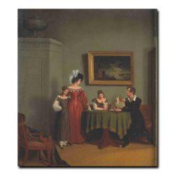 82g_Федор Толстой Семейный портрет