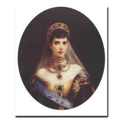 82w_Константин Маковский Портрет императрицы Марии Федоровны,жены Александра третьего