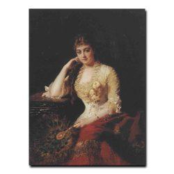 86w_Константин Маковский Портреты жены художника Ю.П.Маковской урожденной Летковой