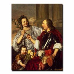 92g_Bray Jan de - Allegorical Family Portrait