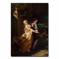 93g_Dubufe Louis Edouard - Lovelace Abducting Clarissa Harlowe