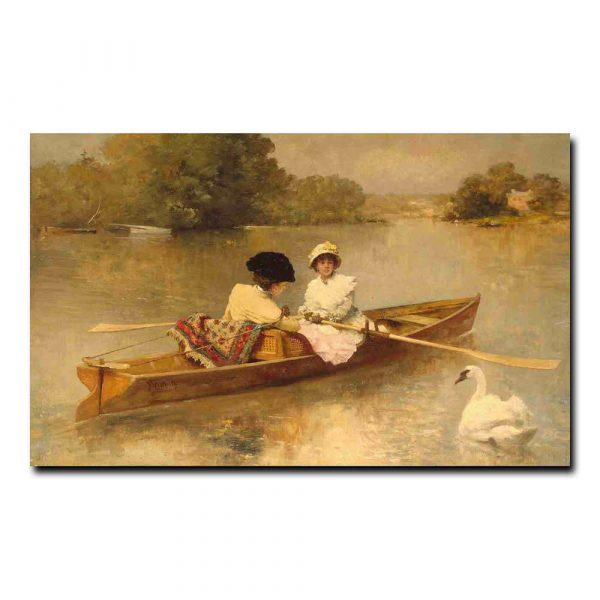 97g_Heilbuth Ferdinand - Rowing on the Seine