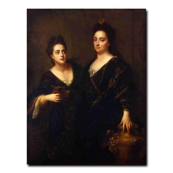 98g_Santerre Jean-Baptiste - Two Actresses