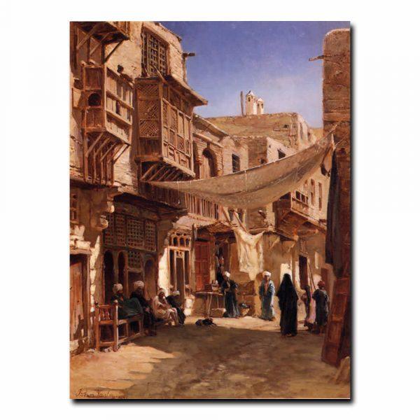 A Street In Boulaq Near Cairo Варлей Джон