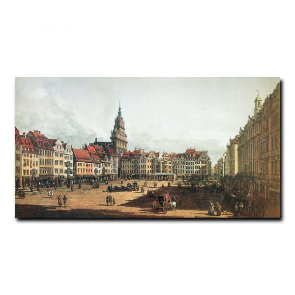 Старый рынок в Дрездене Бернардо Беллотто (Bernardo Bellotto)