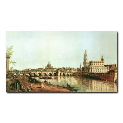 Дрезден с правого берега Эльбы Бернардо Беллотто (Bernardo Bellotto)