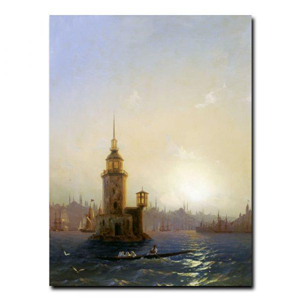 Вид Леандровой башни в Константинополе Айвазовский Иван Константинович