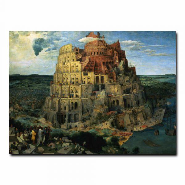 Вавилонская башня Брейгель Питер (Pieter Bruegel de Oude)