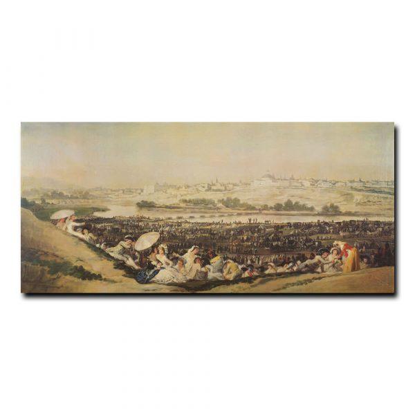 Луг у Сан-Исидро Франсиско Гойя (Francisco de Goya)