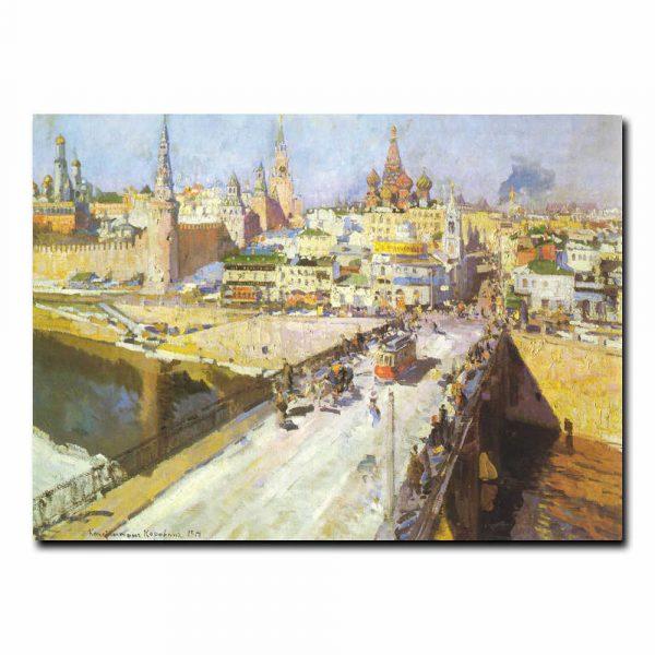 Москворецкий мост Коровин Константин Алексеевич