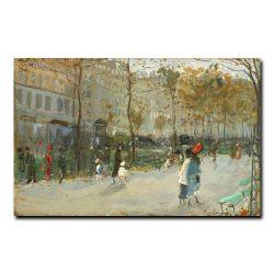 Бульвар в Париже. Лансере Евгений Евгеньевич
