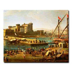 Вид на порт Неаполя Гаспар ван Виттель (Caspar van Wittel)