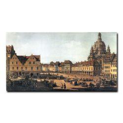 Новый рынок в Дрездене Бернардо Беллотто (Bernardo Bellotto)