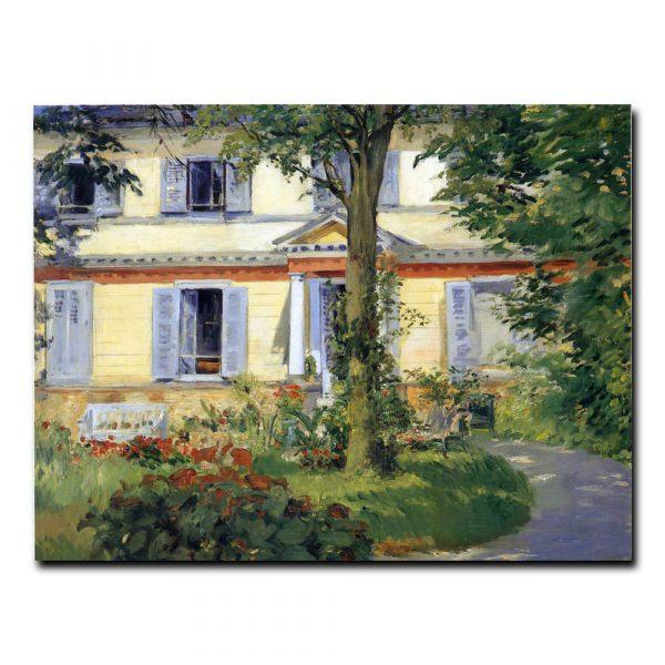 Дом в Рюэй Эдуард Мане (Edouard Manet)