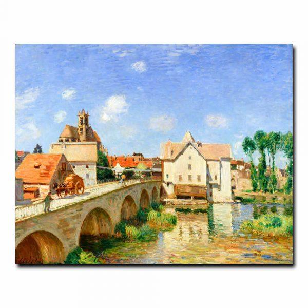 Мост в Море́ Альфред Сислей (Alfred Sisley)