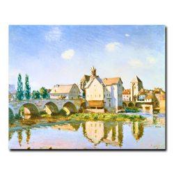 Мост в Море́ 2 Альфред Сислей (Alfred Sisley)