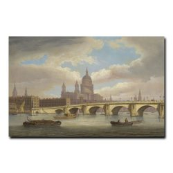 Вид на реку Темзу Томас Луни (Thomas Luny)