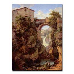 Вид Тиволи Иоганн Кристиан Рейнхарт (Johann Christian Reinhart)