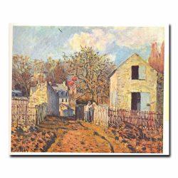 Деревня соседи Альфред Сислей (Alfred Sisley)