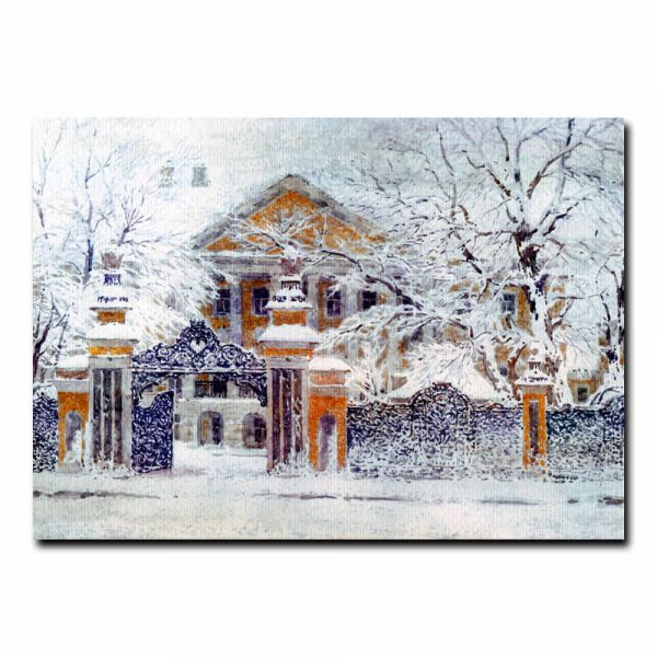 Снег идет Андрияка Сергей Николаевич