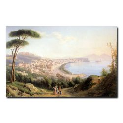 Вид на Неаполь с дороги в Позилиппо Щедрин Сильвестр Феодосиевич