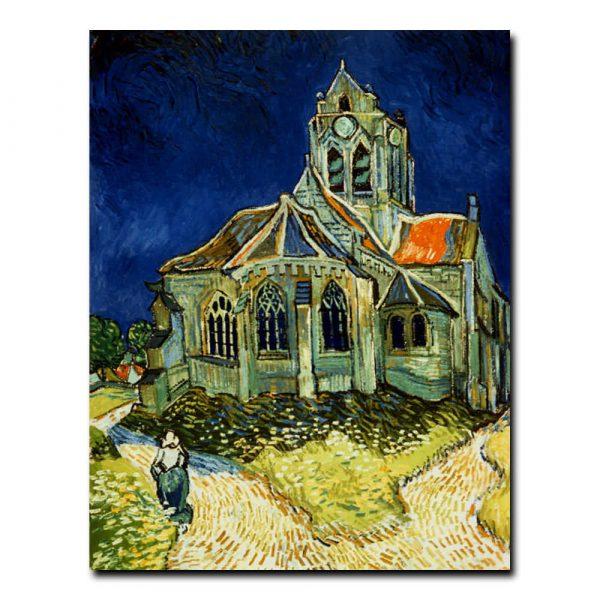 Церковь в Овере Винсент ван Гог (Vincent van Gogh)