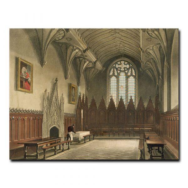 Зал Оксфордского университета Чарльз Огастес Пугин (Augustus Charles Pugin)