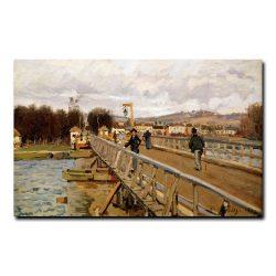 Мост в Аржантейле Альфред Сислей (Alfred Sisley)