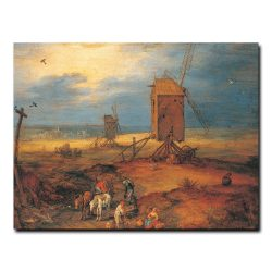 Четыре ветряные мельницы Брейгель (Бархатный) Ян Старший