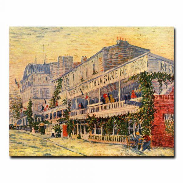 Ресторан Сирена в Аньере Винсент Ван Гог (Vincent van Gogh)