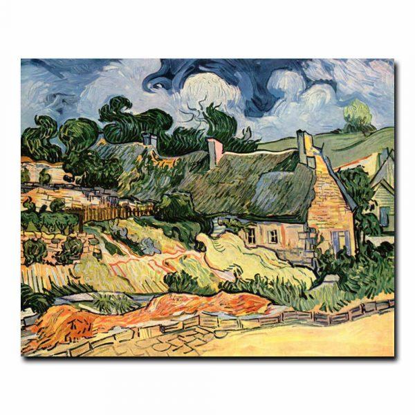 Хижины в Кордевилле Винсент ван Гог (Vincent van Gogh)