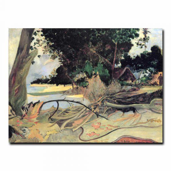 Толстое дерево. Поль Гоген (Paul Gauguin)
