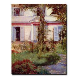 Дом в Рюэй. Эдуард Мане (Edouard Manet)