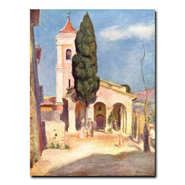 Церковь в Кане. Ренуар Пьер-Огюст (Renoir Pierre-Auguste)