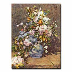 Натюрморт с большой цветочной вазой. Ренуар Пьер-Огюст (Renoir Pierre-Auguste)