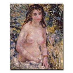 Торс женщины на солнце. Ренуар Пьер-Огюст (Renoir Pierre-Auguste)