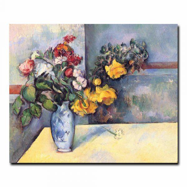 Натюрморт цветы в вазе. Сезанн Поль (Paul Cezanne)