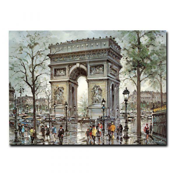 Триумфальная арка Париж. J.Chardon