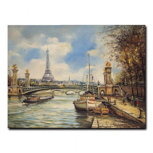 Париж.Мост Александра III