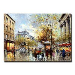 Бульвар Капуцинок в Париже. Антуан Бланшар (Antoine Blanchard)