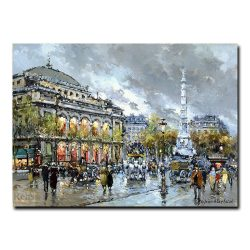 Площадь Шатле (Place du Chatelet, Paris). Антуан Бланшар (Antoine Blanchard)