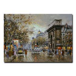 Вид на Ворота Сен-Мартен. Антуан Бланшар (Antoine Blanchard)