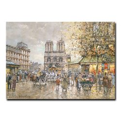 Собор Парижской Богоматери. Антуан Бланшар (Antoine Blanchard)
