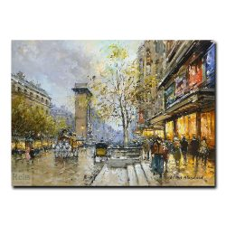 Большие бульвары и ворота Сен-Дени. Антуан Бланшар (Antoine Blanchard)