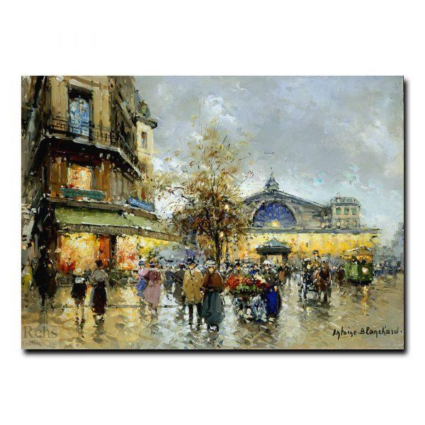 Вокзал (La Gare de l'Est). Антуан Бланшар (Antoine Blanchard)