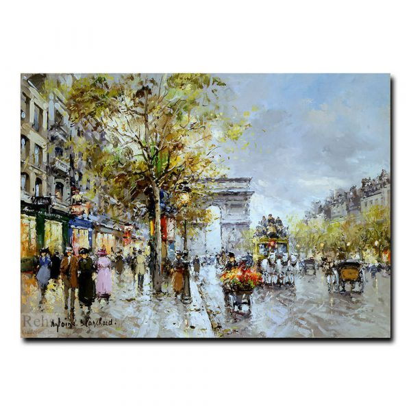 Триумфальная арка (Arc de Triomphe, Paris). Антуан Бланшар (Antoine Blanchard)